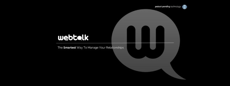 WebTalk -- The Next or THE NEW FACEBOOK?