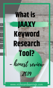 What is JAAXY Keyword Research Tool?