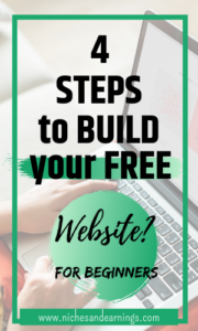 4 Steps to Build Your Free Website