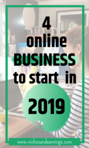 4 Online Business to Start in 2019