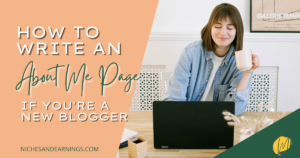 HOW TO WRITE ABOUT ME PAGE