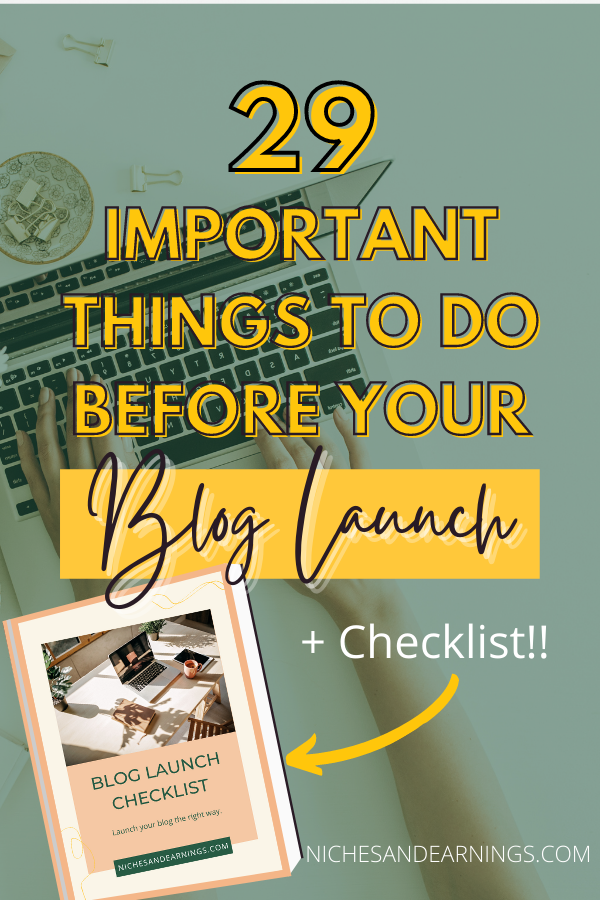 Things To Do Before You Launch Your Blog