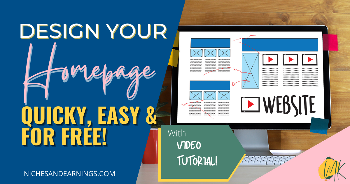 HOW TO DESIGN YOUR HOMEPAGE FOR FREE